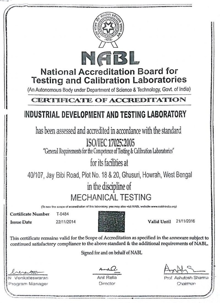 nabl mechanical certificate